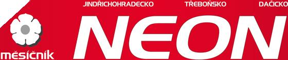 Jindřichohradecko, Třeboňsko, Dačicko - měsíčník Neon